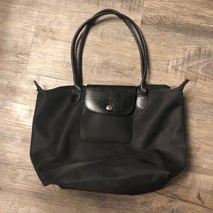 Longchamp Neo Le Pliage black medium